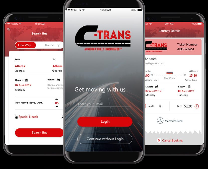 C Trans Lines (Booking System App)