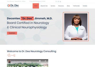 Dr.Dee (Web Design)