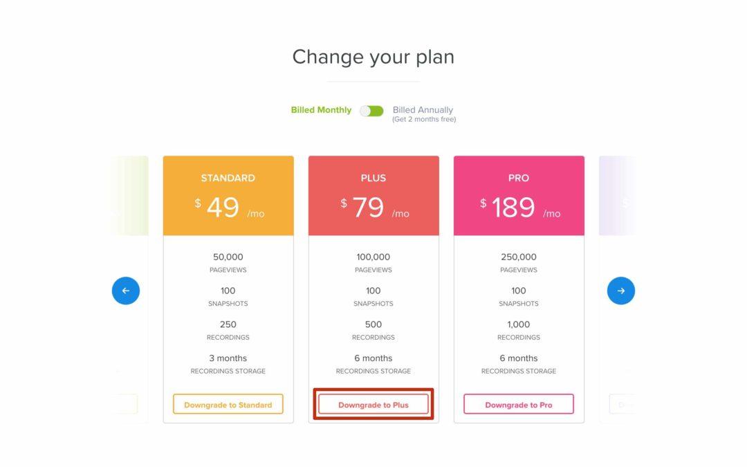 Beta Web Design Subscription Plan